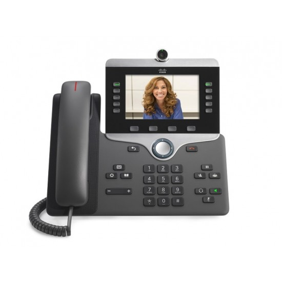 Cisco 8800 Series Unified Endpoint VoIP Video IP Phone CP-8845-K9