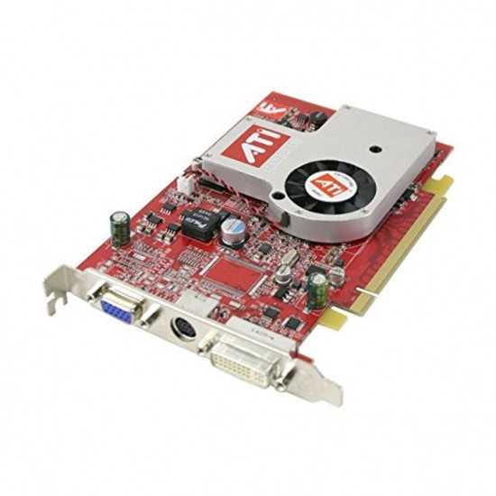 ATI Radeon X700 Pro AGP 256MB DDR2 VGA DVI Video Graphic Card