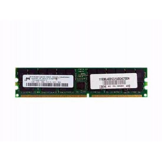 Ibm 09n4308 1gb 266mhz Pc2100 184-pin Cl2.5 Ecc Registered Ddr Sdram Rdimm Genuine Ibm Memory